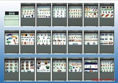 BPSL-20高档型声光电同步机械零件设计陈列柜