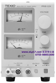 日本德士(TEXIO)PR36-1.2A稳压直流电源