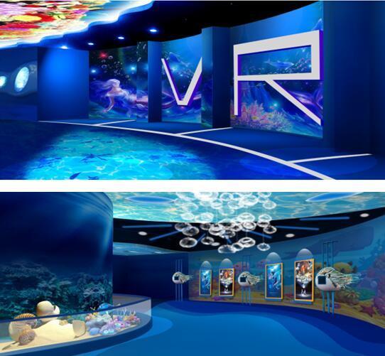 影动力携手文化公园打造VR海洋主题科普馆