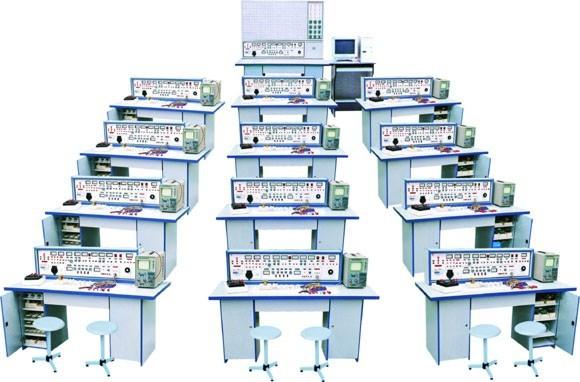 SB-2003B电工、模拟、数字电路、电气控制设备四合一实验室成套设备