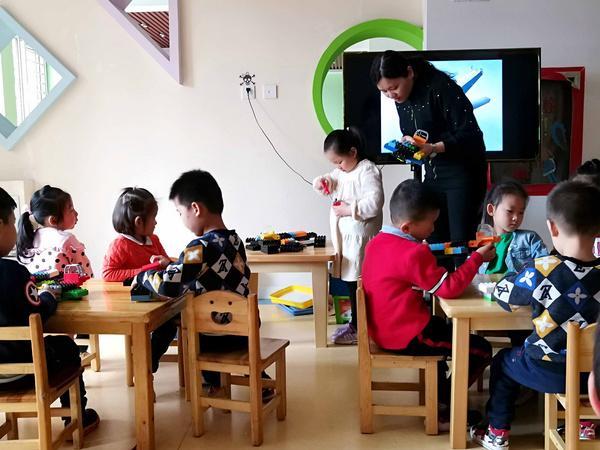 石家庄博苑幼儿园获我的洛克®幼儿创客教育示范基地