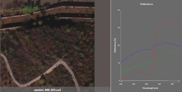 安洲科技利用S185G机载高光谱参与宁夏贺兰山生态修复治理