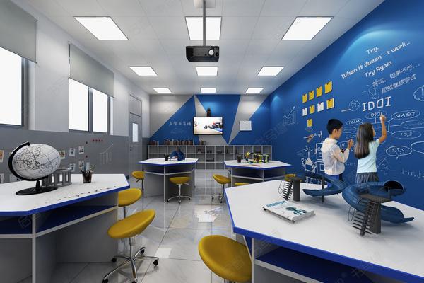 用启智书写墙打造未来创新教室