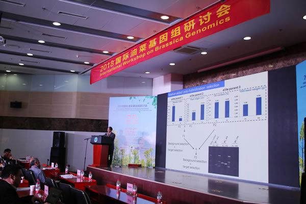 澤泉科技參加2018國際油菜基因組研討會