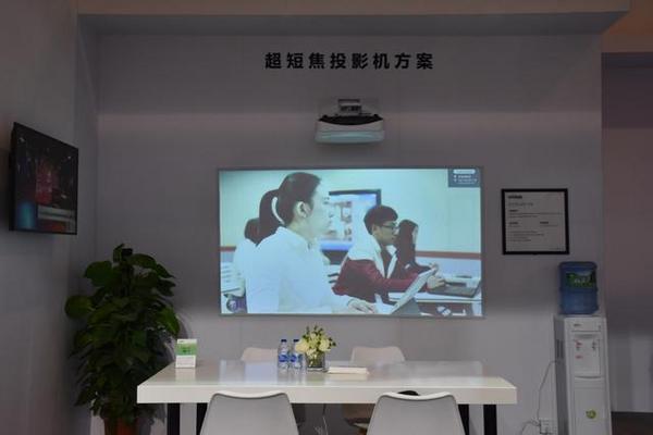 Vivitek(丽讯)精彩亮相2019高等教育博览会