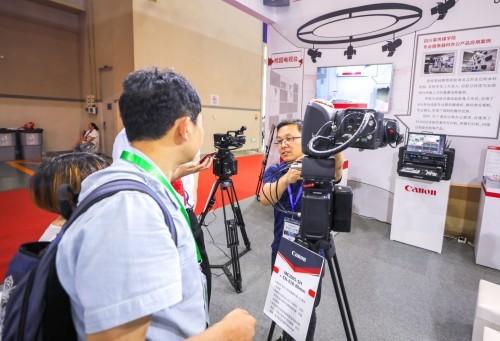 佳能教育行业解决方案亮相第七十六届中国教育装备展示会