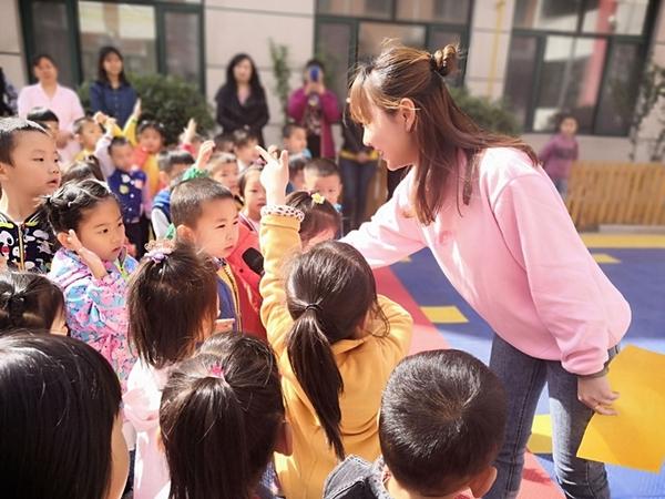 济南市天桥区行知幼儿园开展防震疏散演练活动