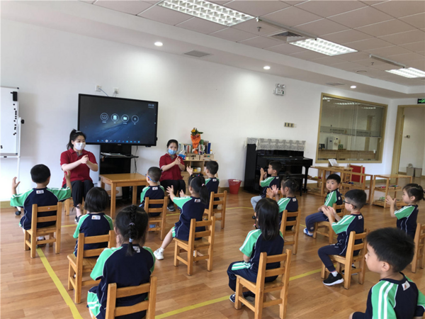 嘉德蒙台梭利幼儿园正式开学,孩子们重回欢乐时光!