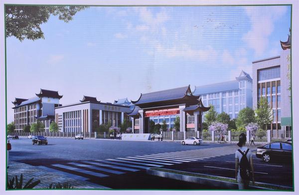 总投2亿的桂林市临桂区宏谋中学开工典礼隆重举行