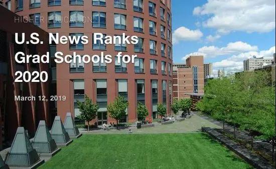 2020年U.S.News全美研究院榜单重磅发布
