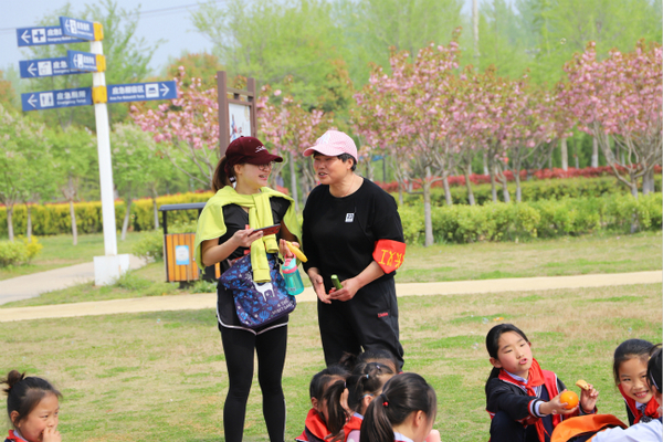 泗阳:各学校纷纷开展春季户外社会实践活动
