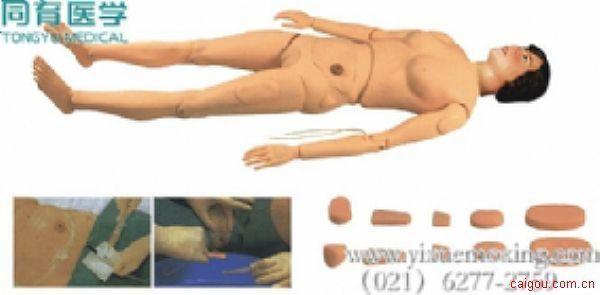 高级全功能组合式护理训练模拟人