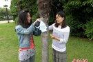 """江苏常州大学生给树木制""""身份证"""" 手机扫描可辨识"""