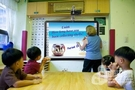 液晶电子白板助力互动教学大展拳脚