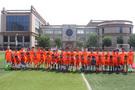 亮相超级赛场 盛福实验小学足球公益夏令营再起航