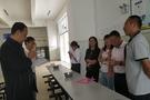 雅安市教育局副局長許江濤到蘆山督查學校食堂食品安全工作