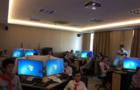 虚拟现实教学实验室迎首批中学生参观体验