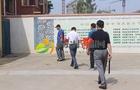 胶州市莱州小学筑起多层防护网创建平安校园