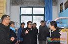 甘肅民族師范學院副校長敏賢麟檢查指導冬季校園安全衛生工作