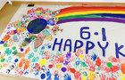 微笑彩虹六一儿童节园游会暨新校区开放活动