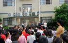 湘潭县花石镇中心幼儿园开展防暴演练 打造平安幼儿园