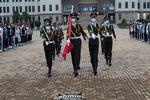 甘肃民族师范学院学生工作处组织举行2021年秋学期第一次升旗仪式