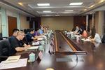 浙江省水利厅来浙江水利水电学院调研指导财务审计工作