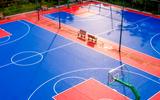 勁踏戶外籃球場懸浮地板室外懸浮式拼裝地板籃球場塑膠地板