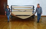 领先凯锐运动地板保护系统运动木地板保护垫体育馆木地板保护膜