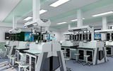天智实验台厂家直销中学生理化生实验室生物实验桌椅理化生考评系统实验室