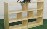 幼兒園玩具柜收納架兒童實木教具柜