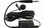 SH-30L领夹电容有线话筒 古筝扬琴等乐器演奏用麦克风 线6米 头领