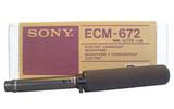 話筒 SONY ECM-672槍型駐極體電容話筒