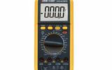 数字万用表VC9806+