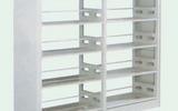 六層雙面雙柱書架