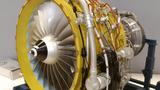 航空发动机教具涡扇发动机CFM56-7B发动机模型 解剖拆装发动机元器件实训装置