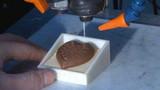巧克力3D打印机 桌面级3D打印机 打印机 打印机批发 小3D打印机 DIY三维打印 3D食品打印机 巧克力打印机