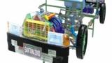 桑塔纳透明整车模型 汽车整车模拟器