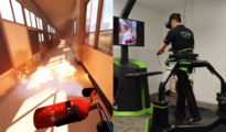VR教育:利用VR跑步机进行交互式消防演练