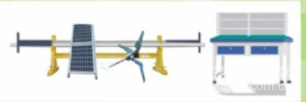 风光互补路灯综合拆装实验实训装置