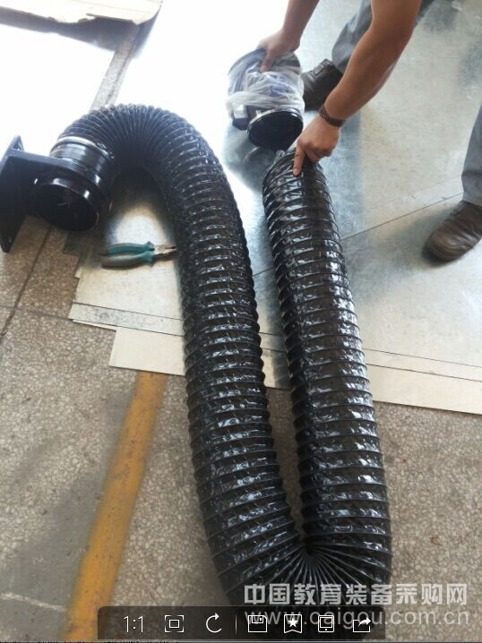 厂家供应万向柔性吸气臂,万向吸气臂,焊接车间排烟首选