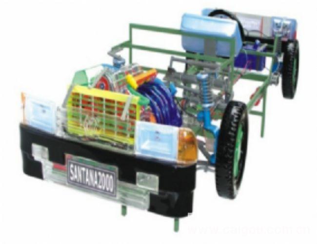 桑塔納透明整車模型 汽車整車模擬器