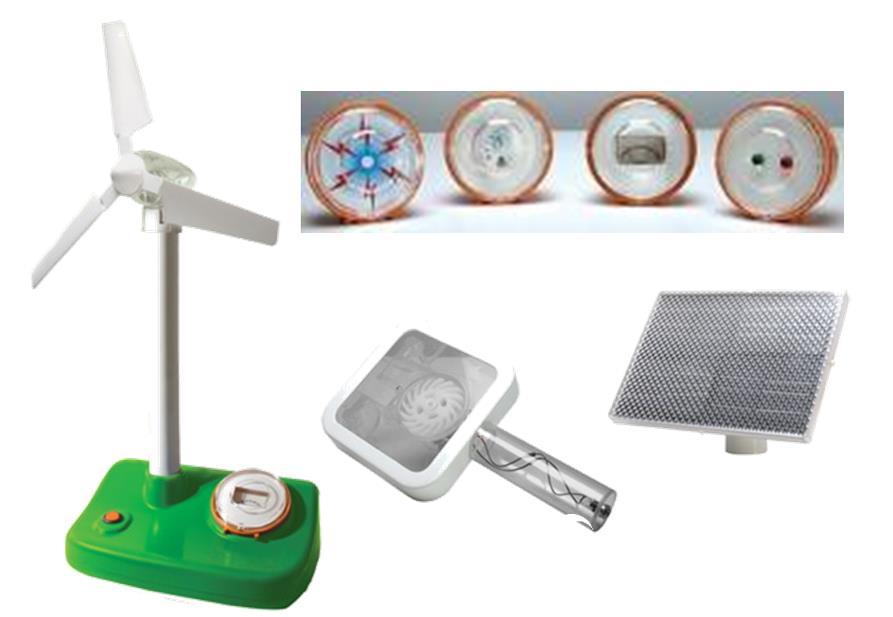 香港EDU 可再生能源 兒童物理實驗科學太陽能風能水能實驗觀測站