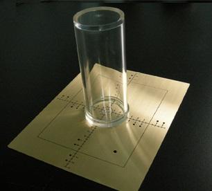 醫療檢測設備 光野照射野一致性檢測板及垂直檢測筒PL-101