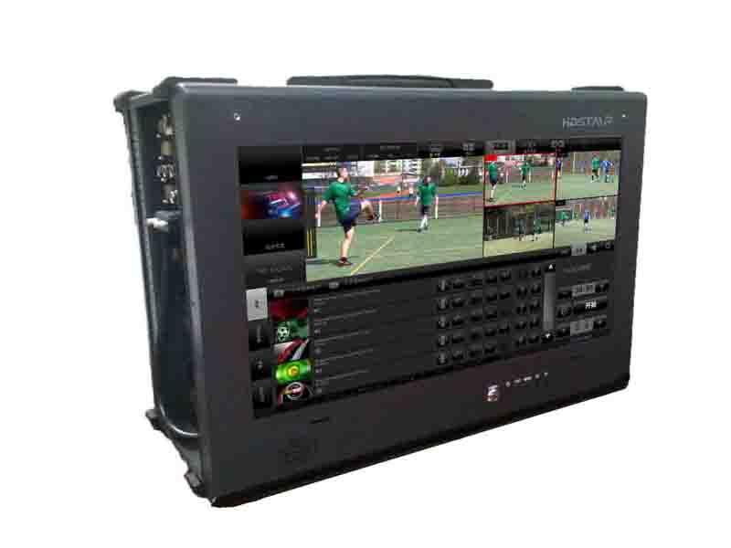 HDStar CASE 400 便攜式制播系統 可同時在線直播、轉播、多平臺的實時編碼直播 制播系統