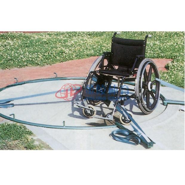 残疾人轮椅固定器