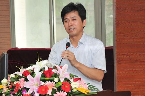 南京教育装备与勤工俭学办公室后有为主任致辞