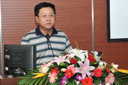 江苏省教育装备与勤工俭学管理中心刘丰书记致贺辞