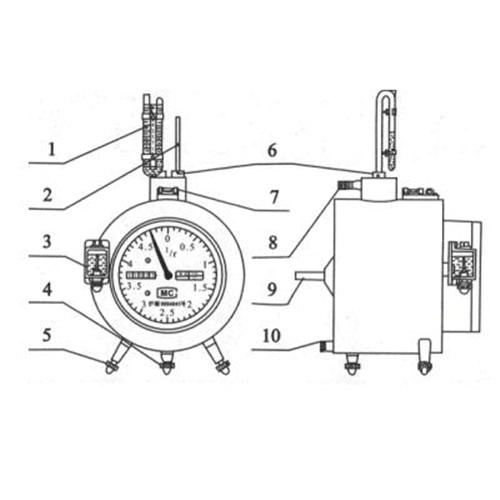 湿式气体流量计 型号:LBS-BSD