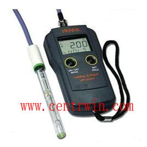 便携式pH/温度测定仪(皮革纸张) 型号:CENHI-99171